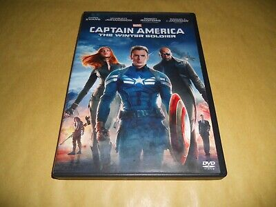 Dvd-Marvel-Captain America-The Winter Soldier-2014