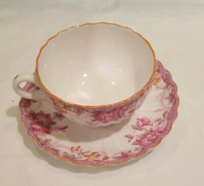 Spode's Bone China IRENE Chintz Pattern Tea Cup England