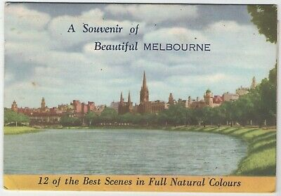 Australia - Pull Out Scenes Of Melbourne - By Nucolorvue