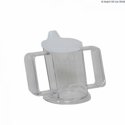 Able 2 Handycup With Lid Clear - PR65646