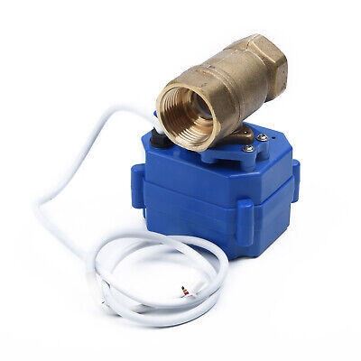 """Ball Valve Brass G3/4"""" 2 Way Electrical 3 Wire DN20 CR02 Engine High Quality"""