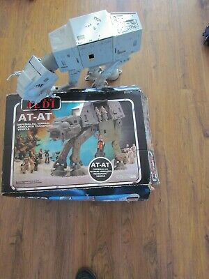 vintage Star Wars ROTJ ATAT 1983 complete with original box Palitoy