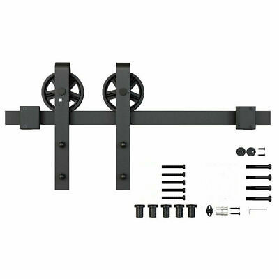 2meters Sliding Barn Door Hardware Kit Track System Closet Antique Country Style