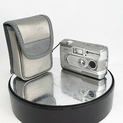 Praktika DCZ 8 VR Digital Camera - Silver Full Working Order CASED #655