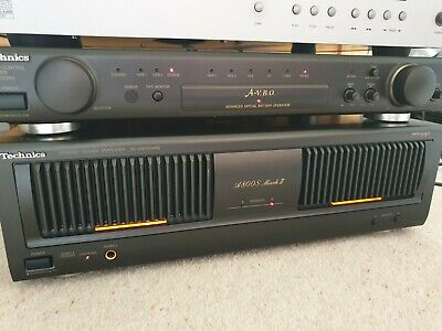 Technics SE-A800S M2 & SU-C800 UM2  Pre amp & Power amplifier with remote.