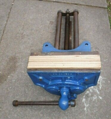 Record No 52 1/2 Large Woodworking Vice with Quick Release (130P)