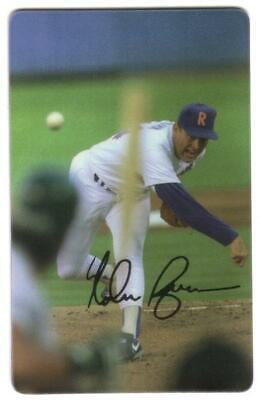 $10. Nolan Ryan Follow-Through From Pitch (Third of Four Cards) Phone Card