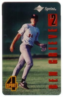 Assets $2. 4-Sport Series: Ben Grieve Baseball (#24) Phone Card