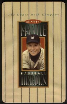 10m Mickey Mantle 'Baseball Heroes' Photo Phone Card