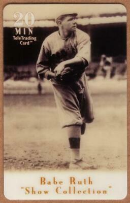 20u Babe Ruth Baseball: Show Collection: Babe Ruth Pitching Phone Card