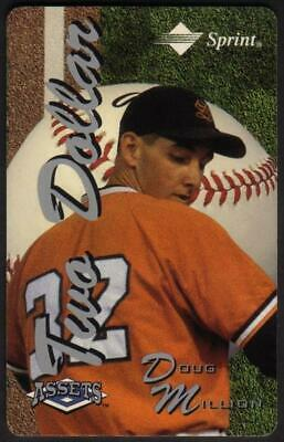 $2. Assets Series #2 (1995) Doug Million (03/31/96) SPECIMEN Phone Card