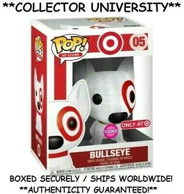 Funko Pop Flocked Bullseye Target Exclusive Ad Icons Vinyl Figure New *Pre-Sale*