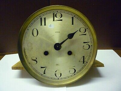 Original Art Deco Kienzle Striking Wall Clock Spring Driven Movement+Dial (13)