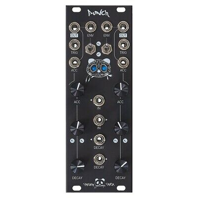 Patching Panda Punch_v2 Eurorack Drum Module