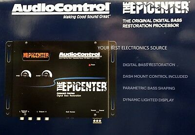 NEW Audio Control EPICENTER Concert Series Digital Bass Reconstruction Processor