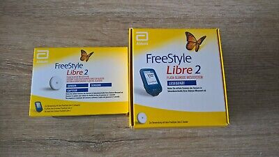 FreeStyle Libre2 Starter Kit Pack mg/dl NEW Reader+1Sensor WORLDWIDE SHIPPING
