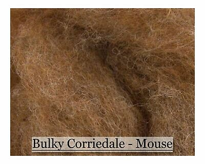 Mouse - Bulky Corriedale Wool - Woodland Series - 16oz