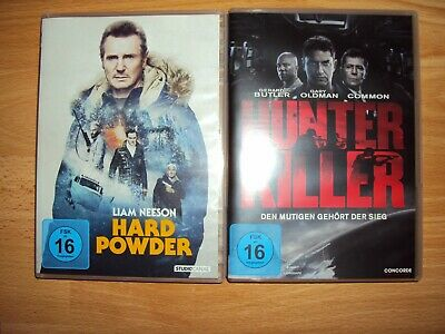 "2 DVD-Set ""Hard Powder & Hunter Killer"""