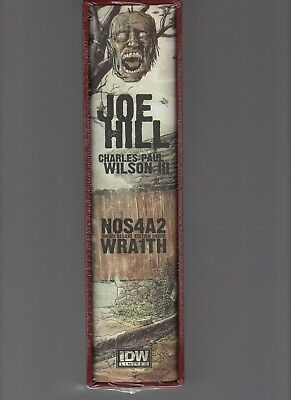 JOE HILL - NOS4A2 Deluxe Wraith (IDW limited edition) Slipcased. SIGNED. NEW!