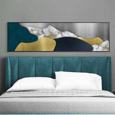 VV667 Modern large Hand painted geometry abstract oil painting canvas frameless