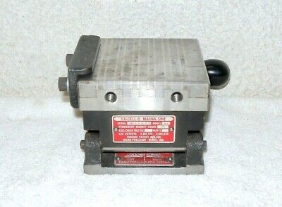 """EX-CELL-O MAGNA-SINE B3 Magnetic Sine Plate Chuck, 4"""" x 4"""" - Free Shipping"""