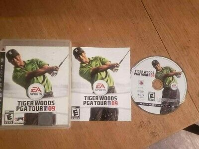 Tiger Woods PGA Tour 09 (Sony PlayStation 3, 2008) Complete CIB PS3