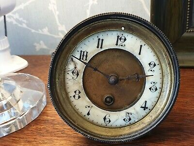 Antique, Japy Freres, French Clock Movement, Spares or Repair, ref A15