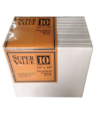 """Stretched Canvas Super Value Pack 10""""x10"""""""