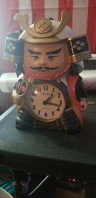 Citizen Collectable Talking Samari Alarm Clock