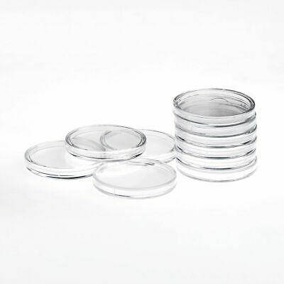 Quality budget round 10pcs Coin Capsules 28mm for new 50 pence 2 pounds* rimless