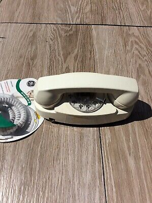 Western Electric Bell System Princess White Rotary Dial Desk Telephone 702B