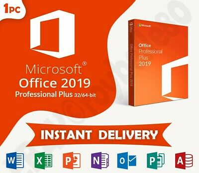 Microsoft Office 2019 Professional Plus Genuine Key📩 Instant Delivery 📩🗝1PC🗝