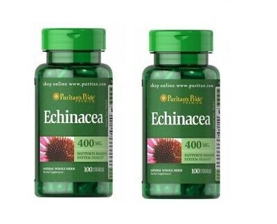 Echinacea STRONG 400 mg x 200 Capsules Healthy Immune System