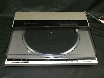 Vintage Technics SL-QL1 Turntable Direct Drive Linear Tracking Record Player