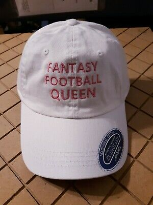 Fantasy Football Queen Embroidered Hat - Woman's - Great Draft Kit Party - NFL