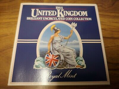 1984 United Kingdom Uncirculated 8 coin collection set