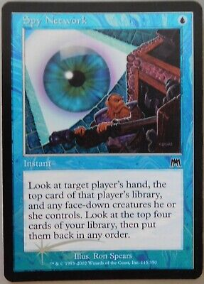 Magic the Gathering, 1x Spy Network foil, Onslaught