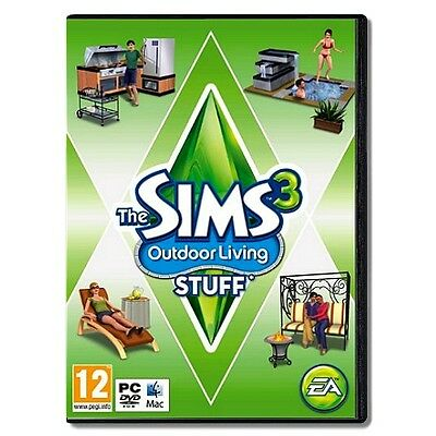 THE SIMS 3: OUTDOOR LIVING STUFF - Expansion Pack ( PC & Mac )