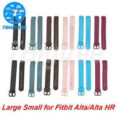 For Fitbit Alta & Alta HR Wristband Replacement Silicone Strap Large / Small