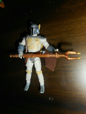"""Star Wars Loose Complete 3.75"""" Figure-30th Anniversary Holiday Special Boba Fett"""