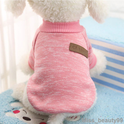 Pet Dog Warm Hoodie Jacket Winter Clothe Puppy Sweater Coat Jumpsuit Apparel XXL