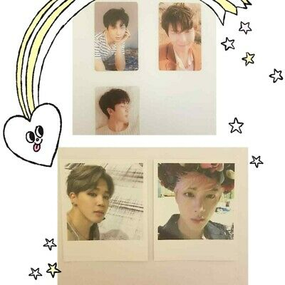 BTS Official Photocards- LY Tear RM Wings Jin Jimin Wings Polaroids