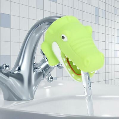 Baby Kids Animals Faucet Extender Tubs Hand Washing Bathroom Sink Water Nozzle