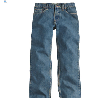 Urban Pipeline Relaxed Straight Low Rise Boys Jeans in Slim and Reg, Adj Waist