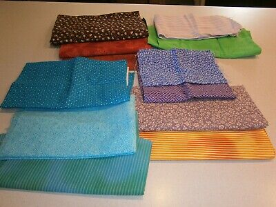Over 1.2 Kg Of Quilting/Patchwork Fabric Pieces - Cotton - Most Not Used At All
