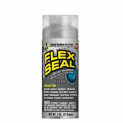 Flex Seal Mini Liquid Rubber Spray Rubber Sealant Coating As Seen On TV - Clear