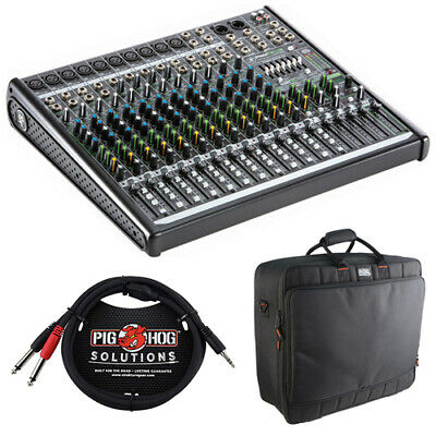 Mackie ProFX16v2 16-Channel Sound Mixer with Mixer Bag & Stereo Cable