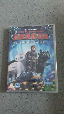 How To Train Your Dragon 3 The Hidden World DVD. (Jay Baruchel, America Ferrera)