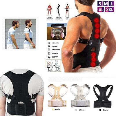Flex Pro Posture-Corrective Therapy Back Brace for Men & Women T New Keep Body #