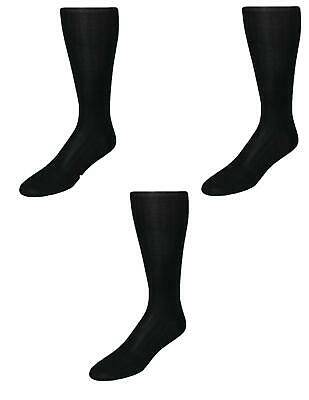 New Vannucci Men's Cotton OTC Dress Socks (Pack of 3)